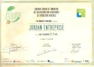 diplôme Jordan Entreprise