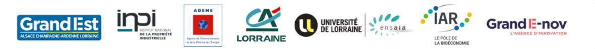 logo des partenaires du concours INOVANA